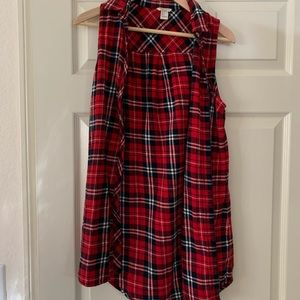 Plaid Forever 21 Button Up